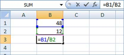 percent function in excel